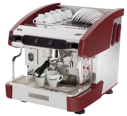 Expobar NEW ELEGANCE MINI CONTROL kétkaros kávégép daráló